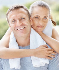 Sermorelin encourages your body to produce its own HGH. This prevents low HGH levels for long term relief of the symptopms of aging.